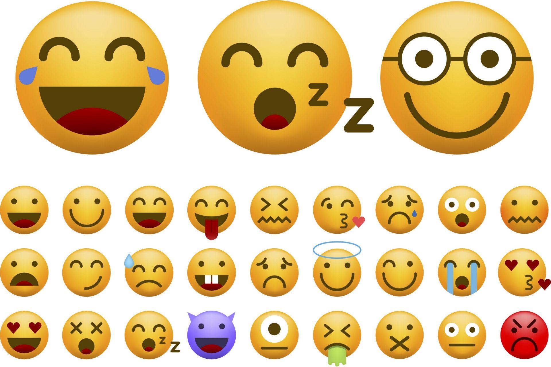 Smileys, Emoticons und Emojis: Bilder statt Worte